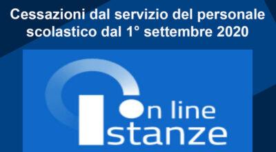 Cessazioni dal servizio dal 1° settembre 2021 – Indicazioni operative