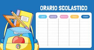 L'orario scolastico ha subito variazioni per motivi organizzativi. Il nuovo orario è pubblicato sul sito istituzionale della scuola