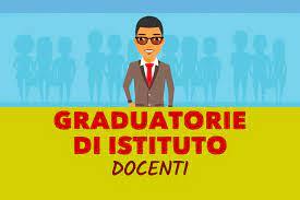 Pubblicazione graduatoria provvisoria di Istituto docenti