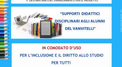 Supporti didattici agli alunni in comodato d'uso per l'inclusione e il diritto allo studio per tutti